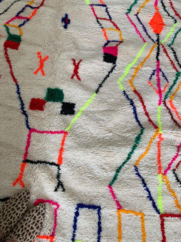 Legende berber tapis berbère Azilal 46
